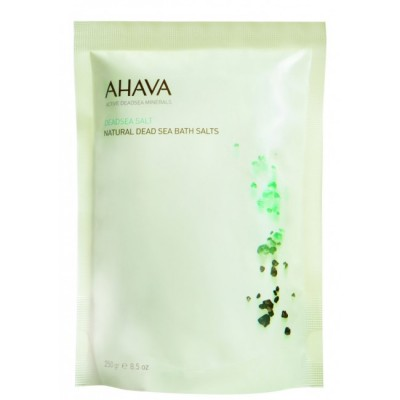 Натуральная соль для ванны Ahava Deadsea Salt 250 гр: фото