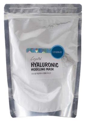 Альгинатная маска для лица с гиалурованной кислотой LINDSAY Premium hyaluroniс modeling mask 240г: фото