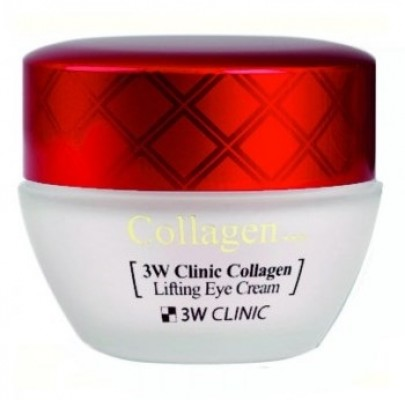 Крем-лифтинг для кожи вокруг глаз с коллагеном 3W CLINIC Collagen Lifting Eye Cream 35г: фото