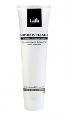Сыворотка-бальзам для посеченных кончиков волос LA'DOR Keratin power glue 150ml: фото