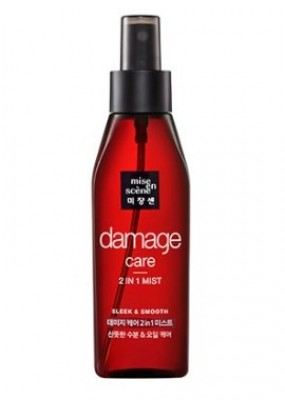 Восстанавливающий мист MISE EN SCENE Damage Care 2 in 1 Sleek & Smooth Mist: фото