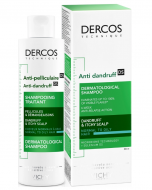 Шампунь от перхоти для жирной кожи головы VICHY Dercos Anti-Dandruff Normal to Oily Hair 200мл: фото