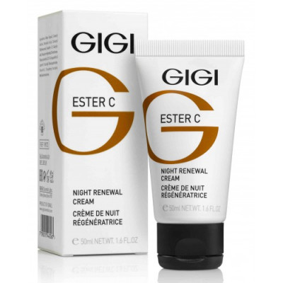 Крем ночной GIGI Ester C Night Renewal cream 50 мл: фото