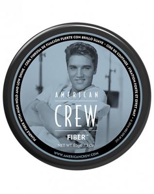 Паста для укладки с сильной фиксацией и с низким уровнем блеска American Crew King Fiber Gel 85г: фото