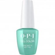 Гель для ногтей OPI GelColor Verde Nice to Meet You GCM84 15 мл: фото
