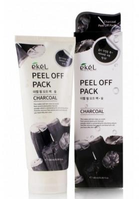 Пена для умывания с экстрактом древесного угля Ekel Foam Cleanser Charcoal 180мл: фото