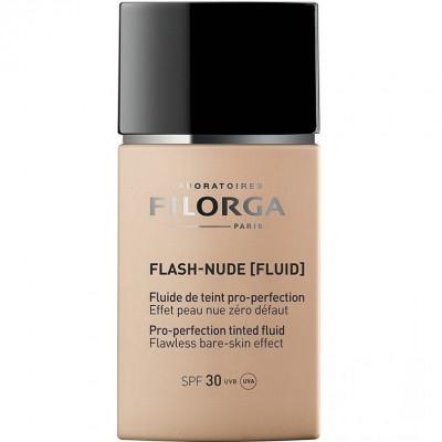 Совершенствующий тональный флюид Слоновая кость Filorga Flash-Nude Pro-perfection tinted fluid Совершенствующий тональный флюид Бежевый Нюд Filorga Flash-Nude Pro-perfection tinted fluid Ivory 30мл: фото
