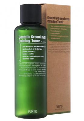 Тонер бесспиртовый успокаивающий с центеллой азиатской PURITO Centella Green Level Calming Toner 200мл: фото