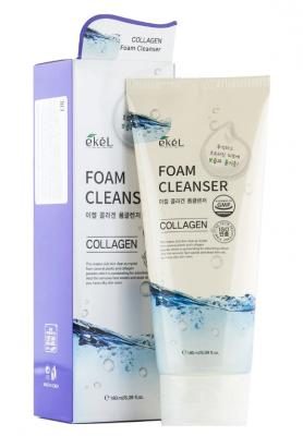 Пенка для умывания с коллагеном EKEL Foam Cleanser Collagen 180мл: фото