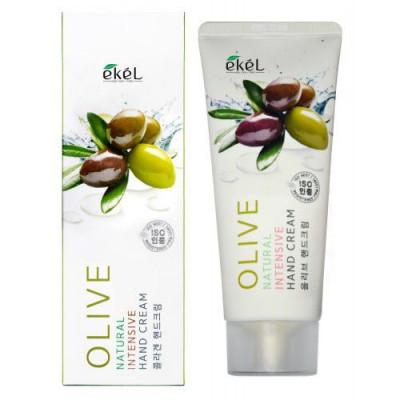 Питательный крем для рук с экстрактом оливы EKEL Olive Natural Intensive Hand Cream 100мл: фото