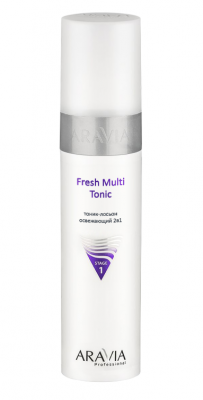Тоник-лосьон освежающий2в1 ARAVIA ProfessionalFresh Multi Tonic 250мл: фото