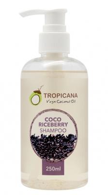 Шампунь для волос КРАСНЫЙ РИС TROPICANA Сoco riceberry shampoo 250мл: фото