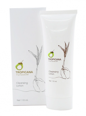 Лосьон очищающий TROPICANA Virgin Coconut Oil Cleansing Lotion 110мл: фото