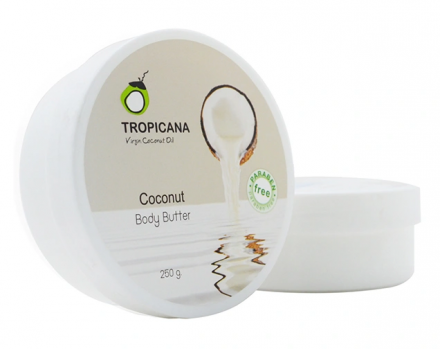 Крем-масло КОКОС TROPICANA COCONUT BODY BUTTER COCONUT 250г: фото