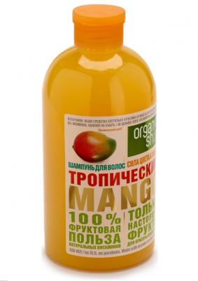 """Шампунь Organic Shop Фрукты """"Тропический манго"""" 500мл: фото"""
