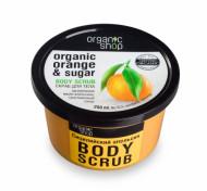 Скраб для тела Organic Shop Сицилийский апельсин 250мл: фото