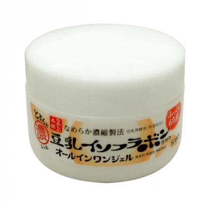 Крем-гель увлажняющий с изофлавонами сои 6в1 Sana Soy milk gel cream100г: фото