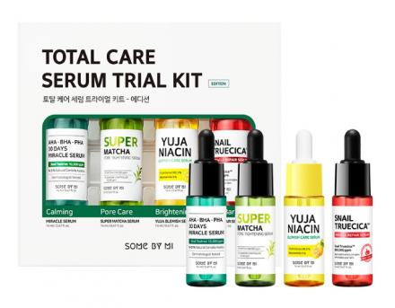 Набор сывороток для лица Some By Mi Total care serum trial kit 14мл*4шт: фото