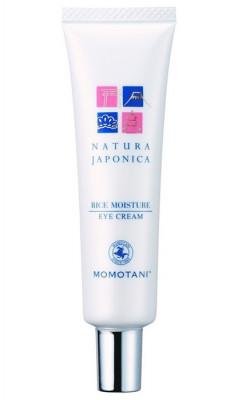 Крем для кожи вокруг глаз увлажняющий с экстрактом риса Momotani Nj rice moisture eye cream 20г: фото