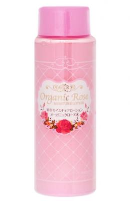 Лосьон-уход увлажняющий с экстрактом розы Meishoku Organic rose moisture lotion 210мл: фото