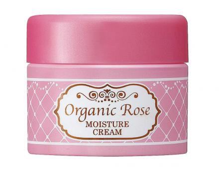 Крем увлажняющий с экстрактом дамасской розы Meishoku Organic rose moisture cream 50г: фото