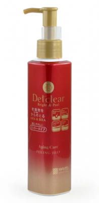 Пилинг-гель с эффектом скатывания для зрелой кожи Meishoku Detclear peeling care aha&bha 180мл: фото