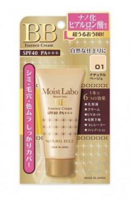 Крем-эссенция тональный Meishoku Moisto labo bb moisture essense cream тон 01 натуральный беж 33г: фото