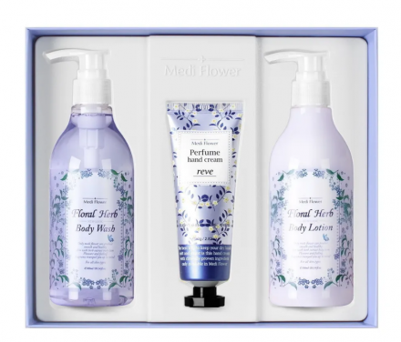 Набор для тела «цветы и травы» MediFlower Body cleanser floral herb: фото