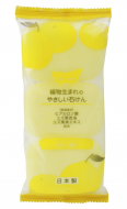 Мыло туалетное с ароматом юдзу MAX Yuzu-scented toilet soap 80г*3шт: фото