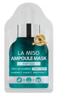 Маска ампульная с пептидами La Miso Peptide acid ampoule mask 25г: фото