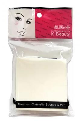 Спонж косметический квадрат 8 сегментов K-Beauty Premium Cosmetic Sponge NR-9: фото