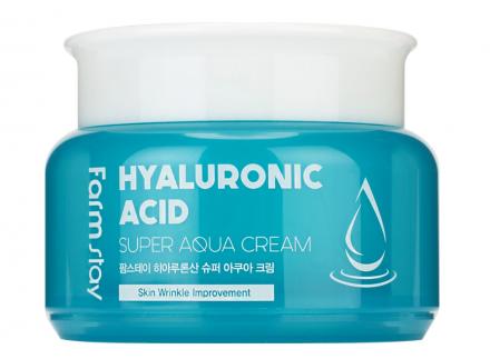 Крем суперувлажняющий с гиалуроновой кислотой FarmStay Hyaluronic acid super aqua cream 100мл: фото