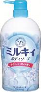 Мыло-пенка для тела с ароматом цветочного мыла COW Milky foam gentle soap 600мл: фото