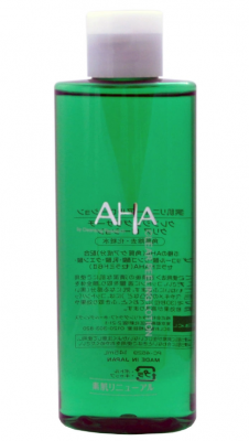 Лосьон очищающий и увлажняющий с фруктовыми кислотами BCL Aha gp lotion 145мл: фото