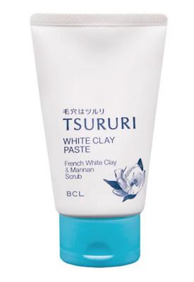 Пена-скраб с белой глиной и растительными экстрактами BCL White clay paste 120г: фото