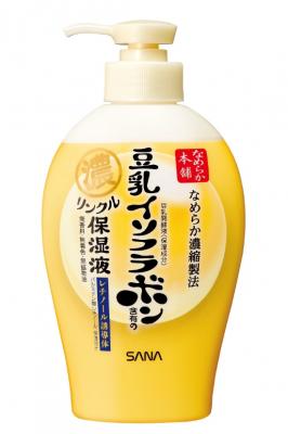 Молочко увлажняющее и подтягивающее с ретинолом и изофлавонами сои 3 в 1 SANA Ohe Wrinkle milk 230мл: фото